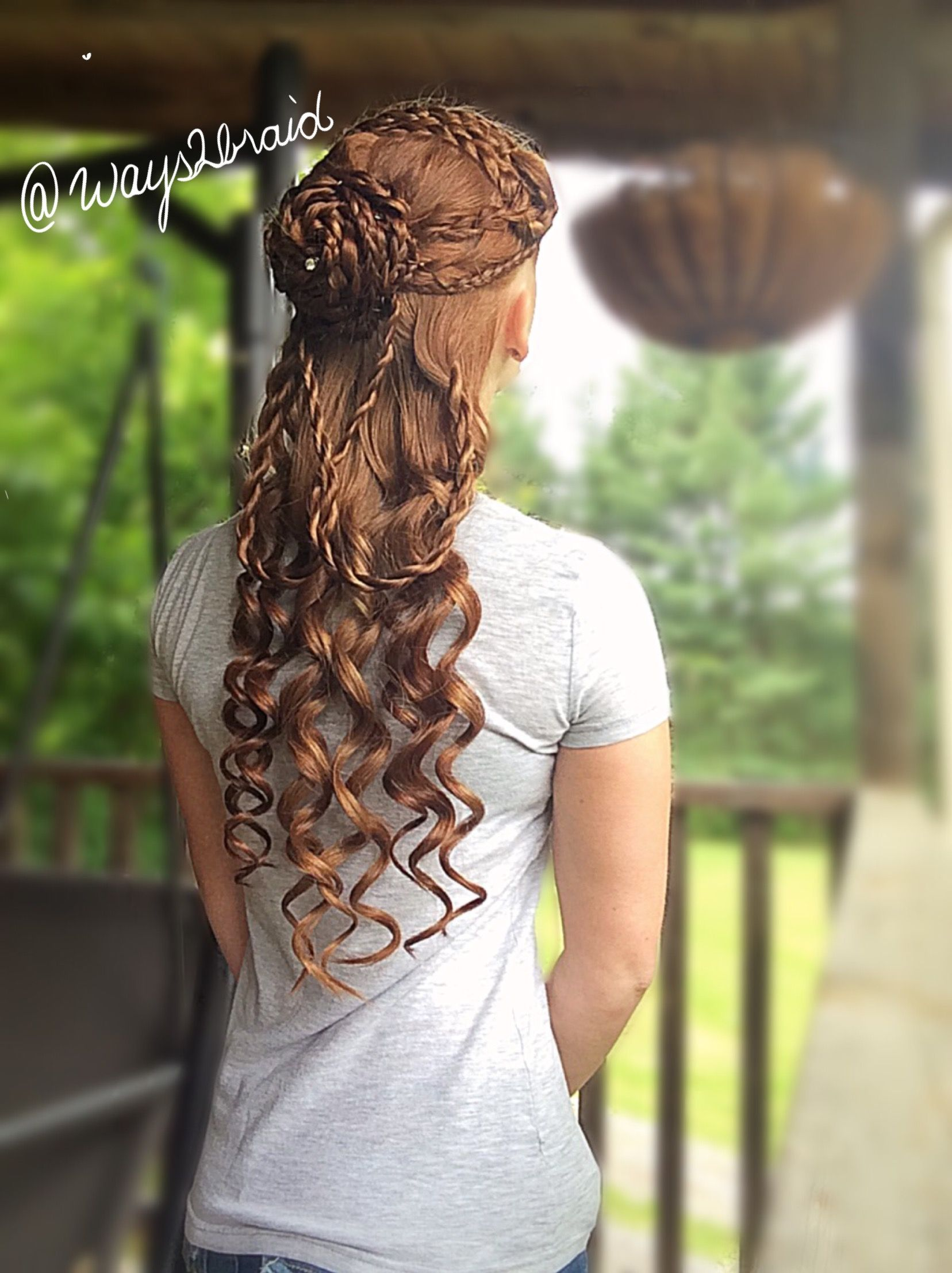 Star Wars Padme Inspired Hairstyle From Phantom Menace Star Wars Hair Hair Styles Star Wars Wedding Dress