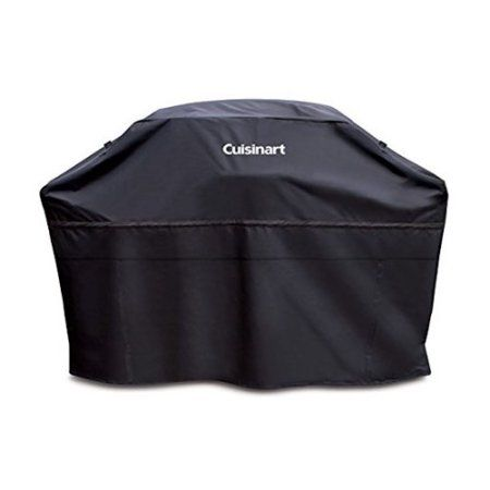 Cuisinart 65 inch Rectangle Heavy-Duty Barbecue Grill Cover - Black