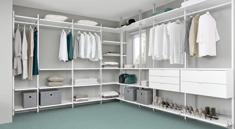 begehbarer kleiderschrank (ecklösung) | begehbarer kleiderschrank, Schlafzimmer entwurf