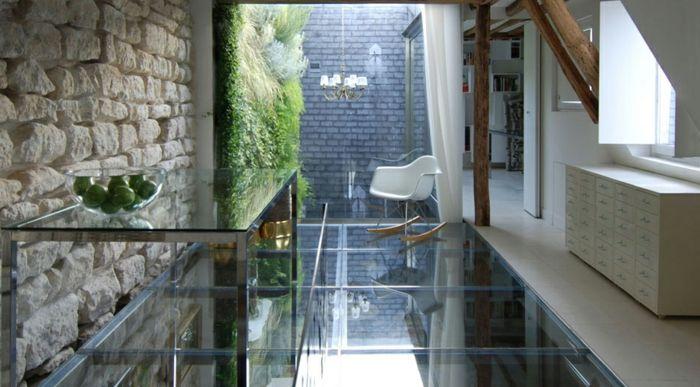 Transformez votre maison avec le plancher en verre!