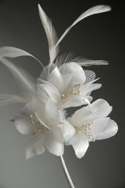 7 white feather silk organdy flower on wire stem 519 each 2 7 white feather silk organdy flower on wire stem 519 each 2 for 499 each mightylinksfo