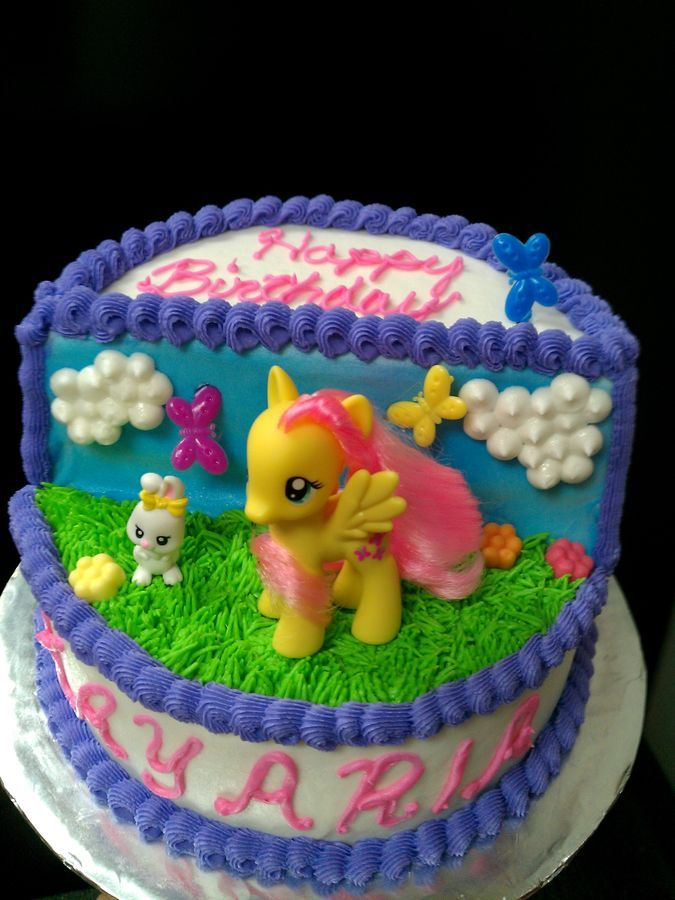 When a friend requested a My Little Pony cake I began searching for