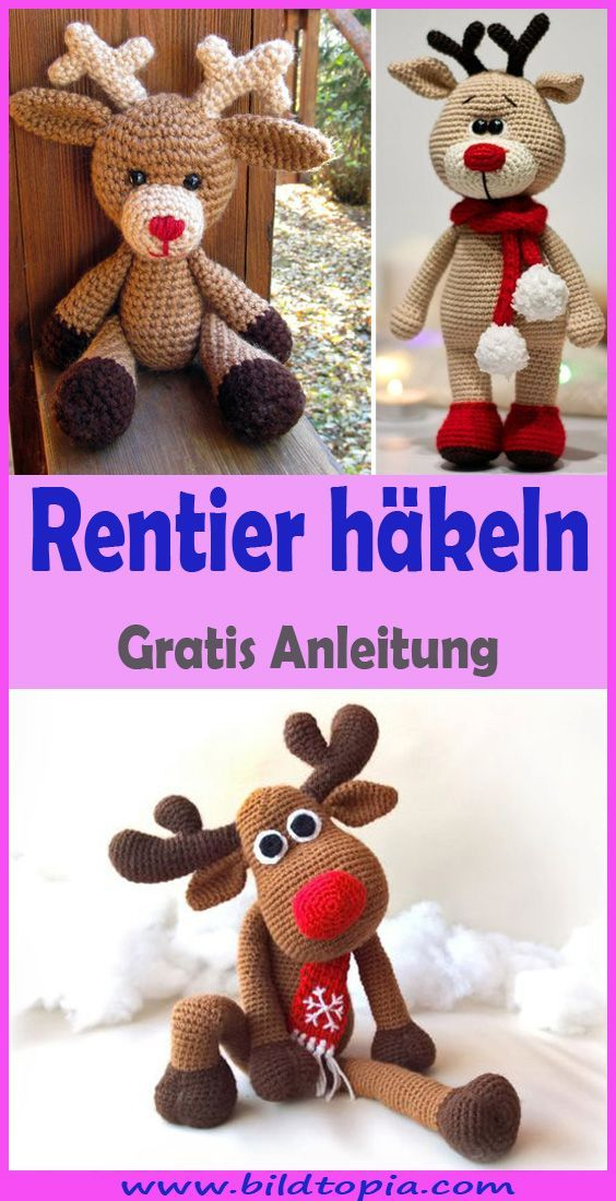 Photo of Crochet Amigurumi Reindeer – Free DIY Instructions #amigurumi #crochet #kni …