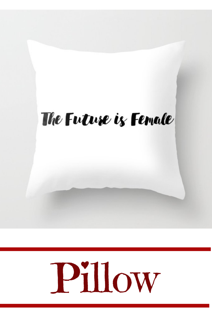 The Future Is Female Throw Pillow Pillows Couch Pillow Covers Couch Throw Pillows