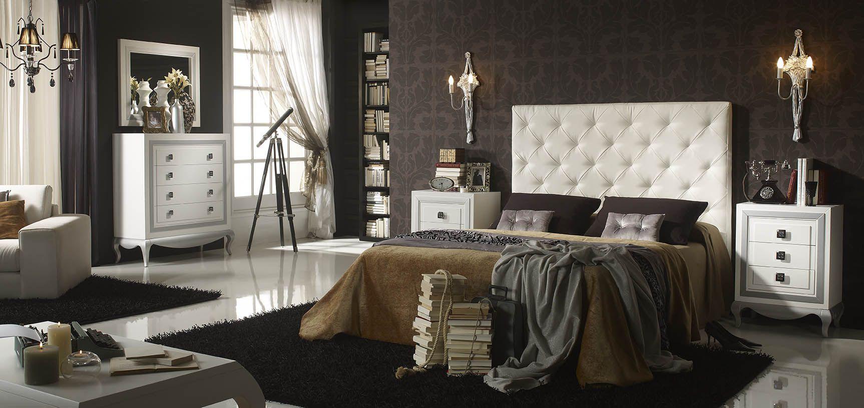 Matrimonio Bed Info : Dormitorio de matrimonio en madera maciza con cabecero
