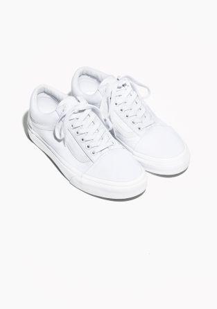 Other Stories Vans Old Skool White White Leather Vans Leather Vans Vans Shoes