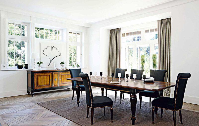 Roche Bobois Tavolini Da Salotto.Tavoli Legno Classici Roche Bobois Villandry Dining Room