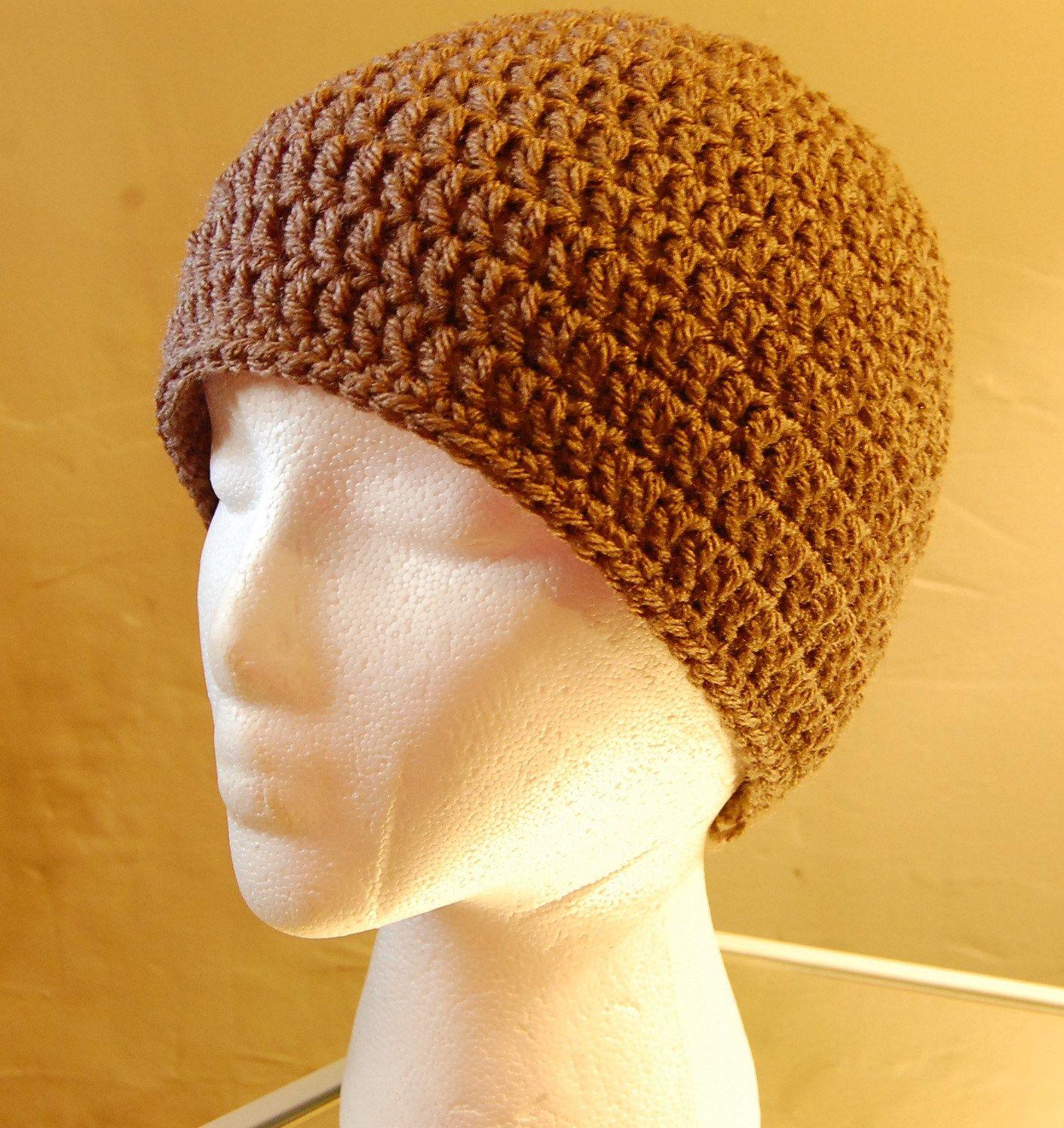 crochet hat for men | Crochet patterns | Pinterest | Tejido