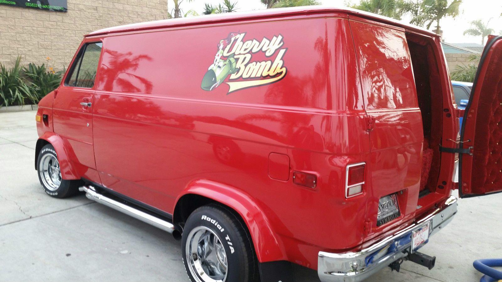 Chevrolet G20 Van Cargo Van Cool Vans Vans Custom Vans