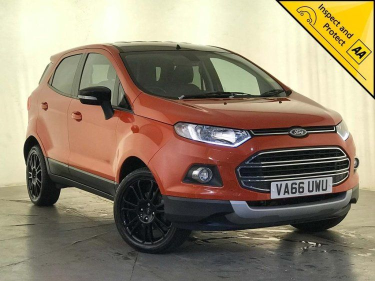 Ford Ecosport 1 0 T Ecoboost Titanium S 5dr Ford Ecosport Hatchback Certified Used Cars