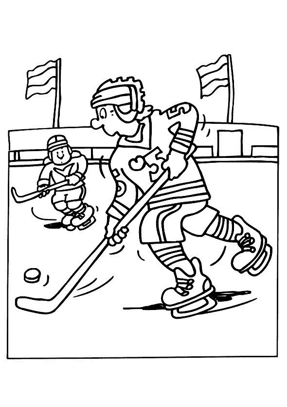 Disegni Da Colorare Per Bambini Colorare E Stampa Sportivo 57