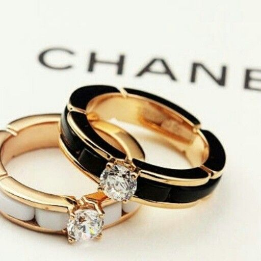 CHANEL rings (2014) pretty awesome