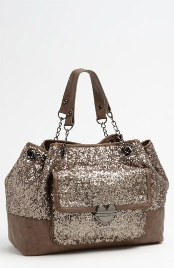 Betsey Johnson Multi Sequin Tote  7416a6bfd76b2