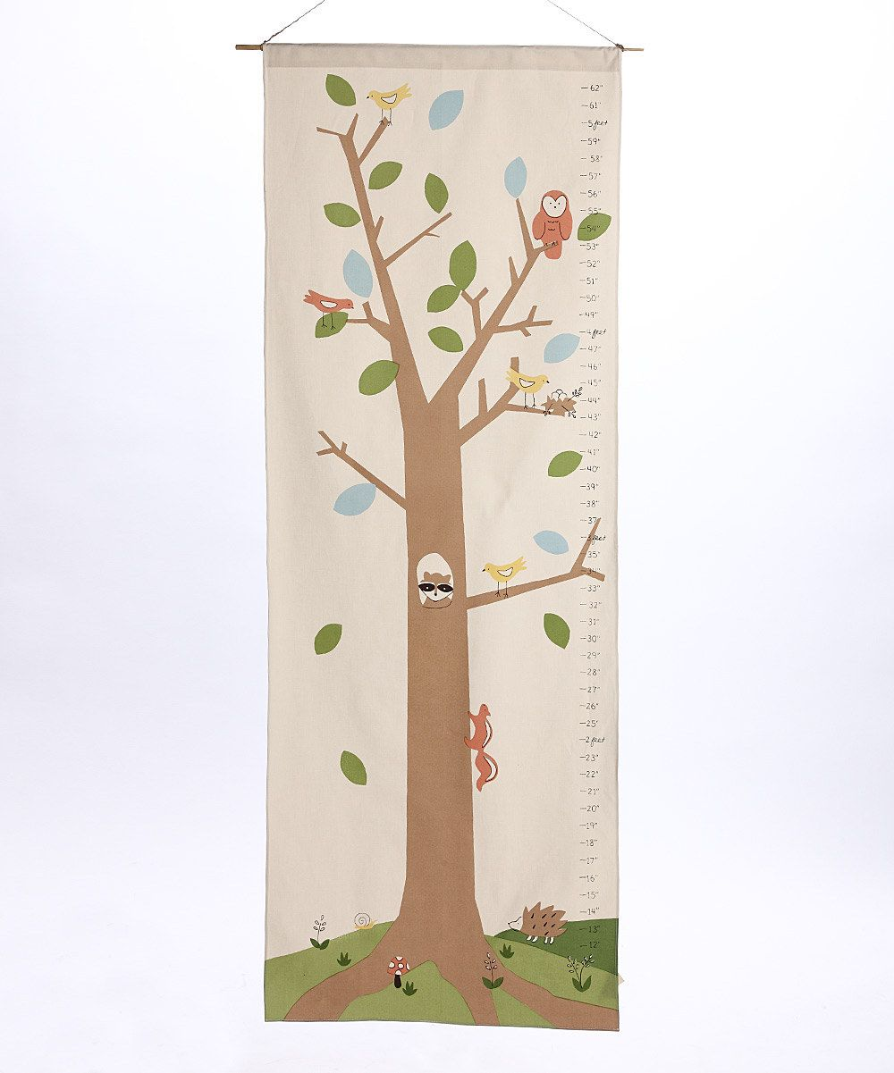Woodlands organic growth chart kid s room chart pin - Cool things to buy for your room ...