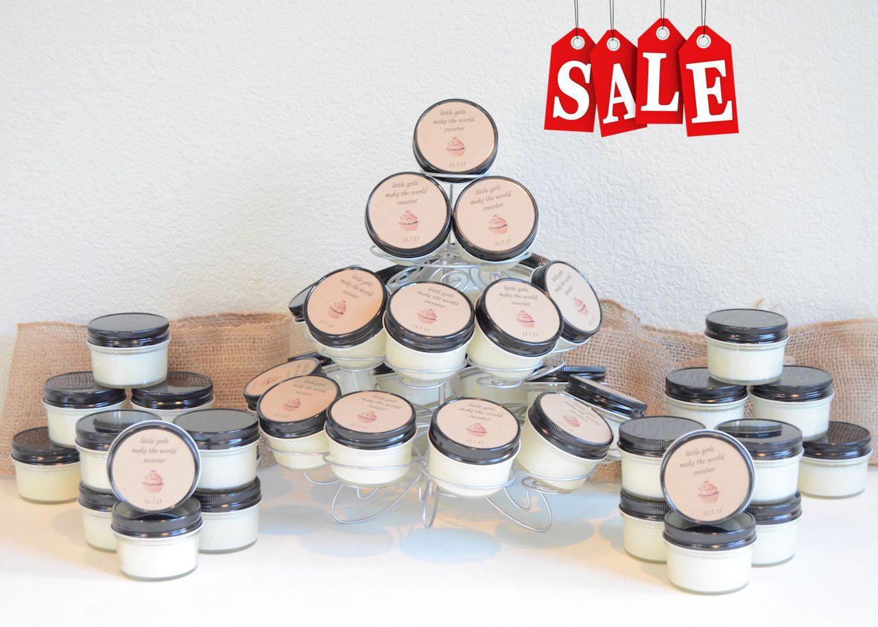 Summer Collection (48) 4 oz. Mason Jar Soy Candles- Wedding Favors ...