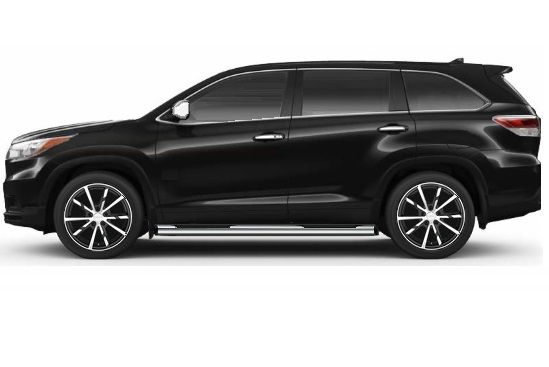 Toyota Highlander Xle Awd Black Metallic Leather Technology Package Moon Roof Middle Ben Toyota Highlander Toyota Highlander Hybrid Toyota Highlander Xle