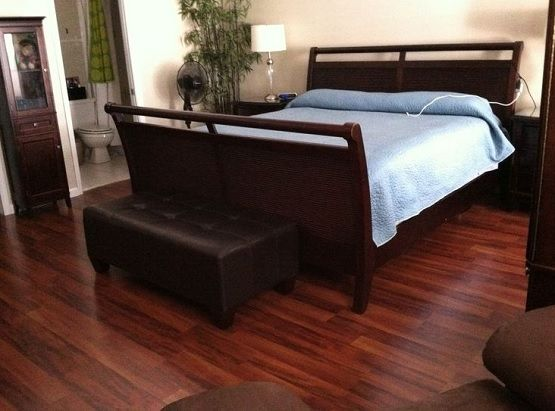 wood flooring ideas and trends for your stunning bedroom dark ideas decor - Bedroom Laminate Flooring