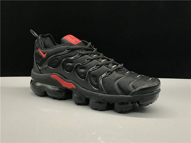 quality design a2361 12363 Men Nike Air Vapormax Plus 2018 Tn Black Red New Arrival Shoe