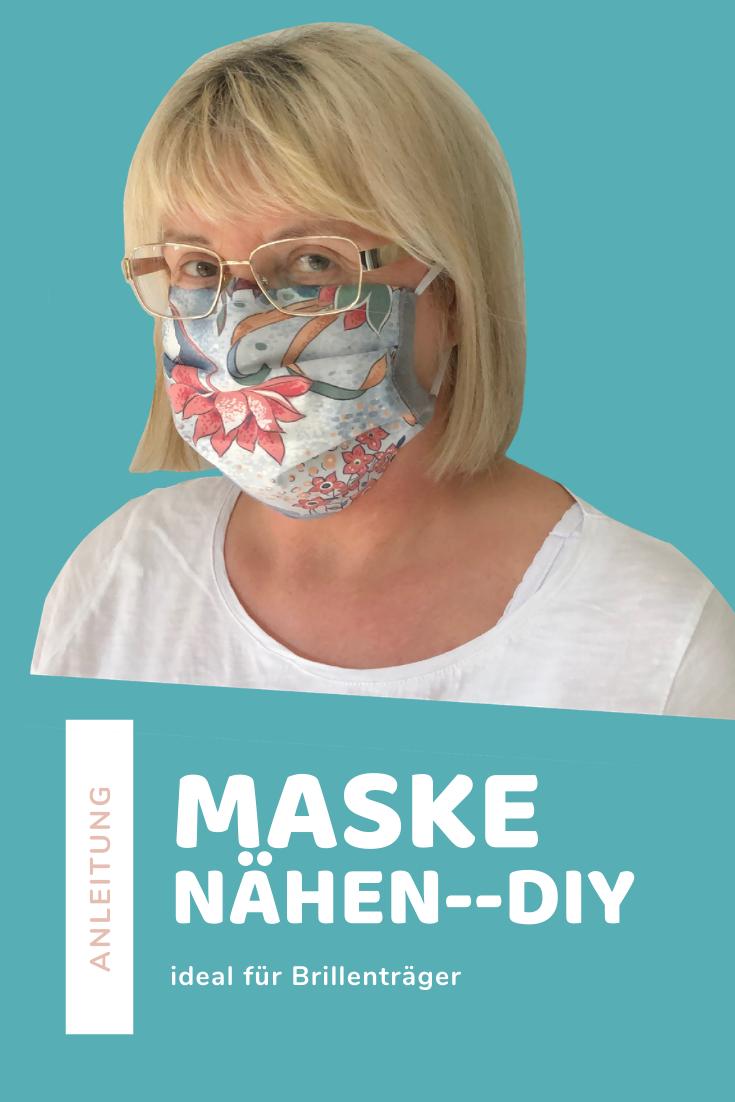 DIY Face Mask NO FOG on Glasses Face Mask Sewing