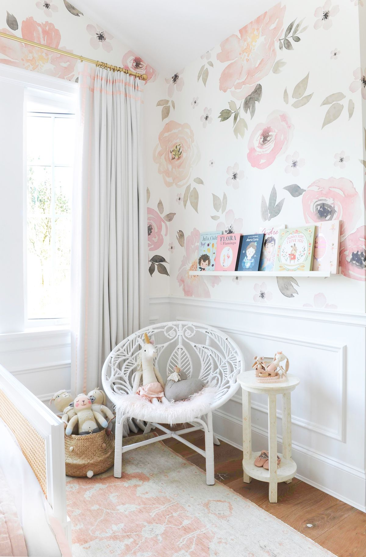 Photo of Darling Pink Floral Wallpaper