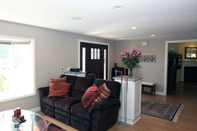 Defining Spaces 6 Ways To Work With An Open Foyer Entry Living Room Create A Foyer Open Living Room