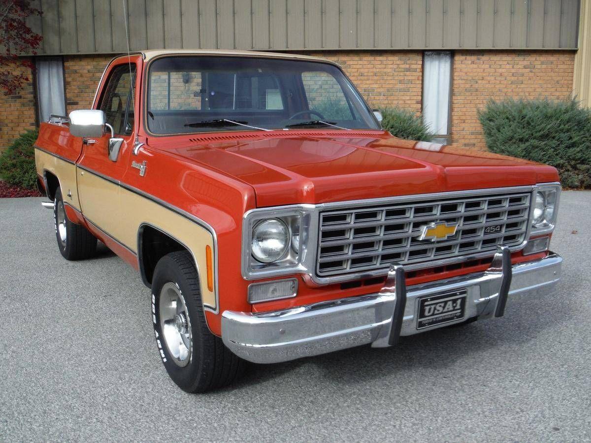 1976 Chevrolet C10 for sale #1893807 | Hemmings Motor News | Chevy trucks. Chevy pickup trucks. 1976 chevy truck