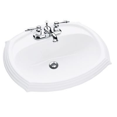 Bathroom Sinks Home Depot Canada glacier bay - regent drop-in - 13-0057-4w-gb - home depot canada