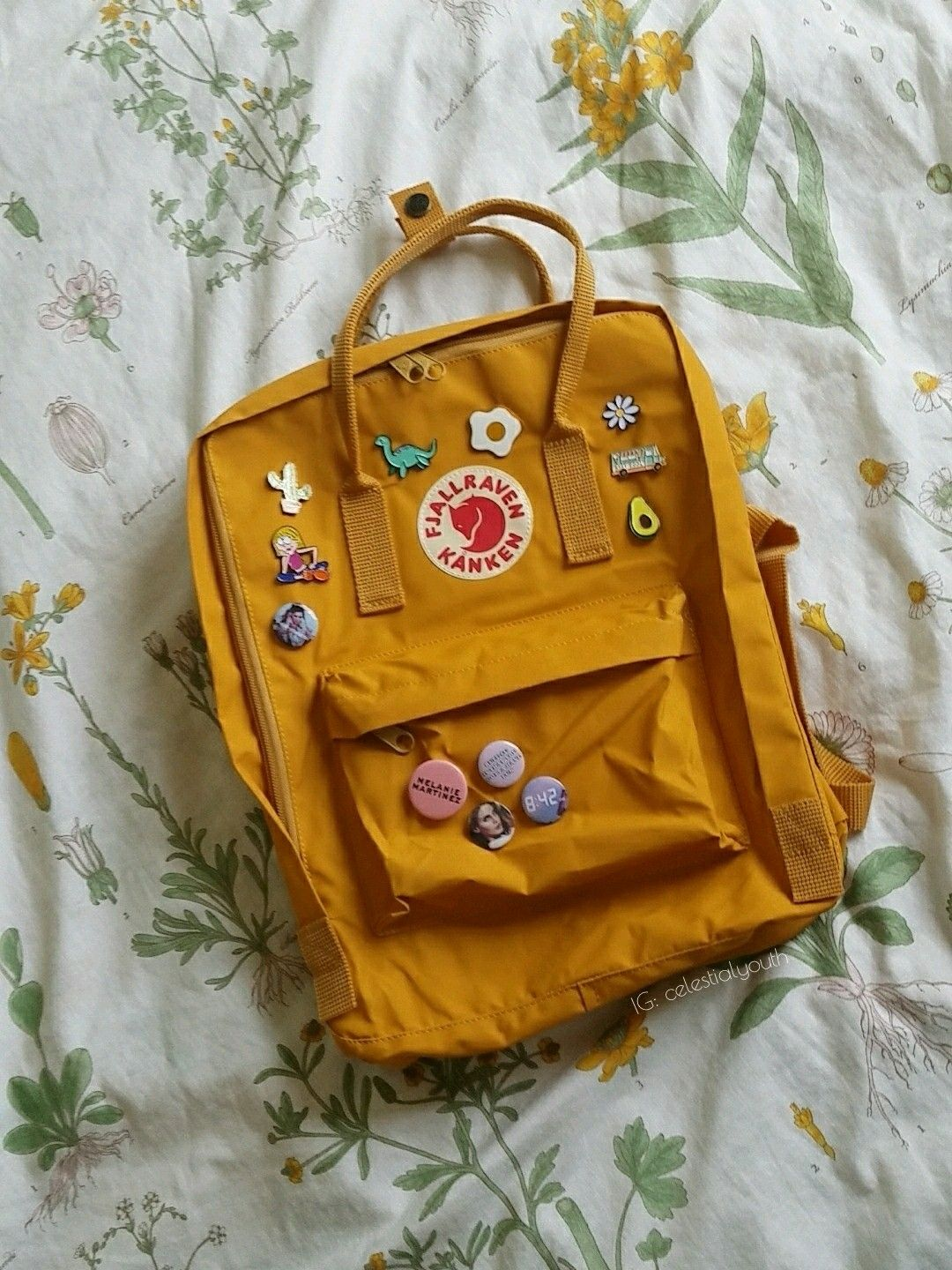 Pin By ♡ Ara ♡ On Soft Pinterest Backpacks Yellow And