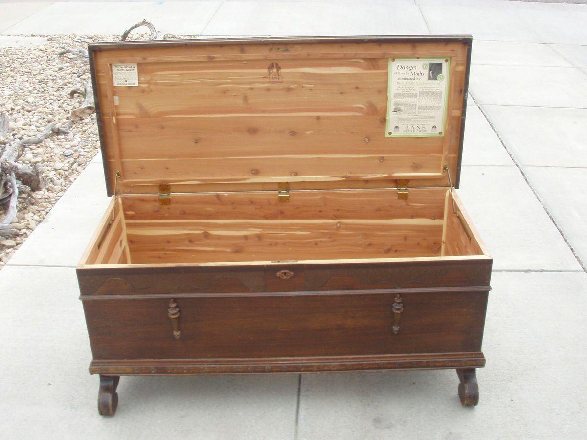 Antique Lane Cedar Chest C1927 Walnut Cedar Chest Lane Furniture Cedar