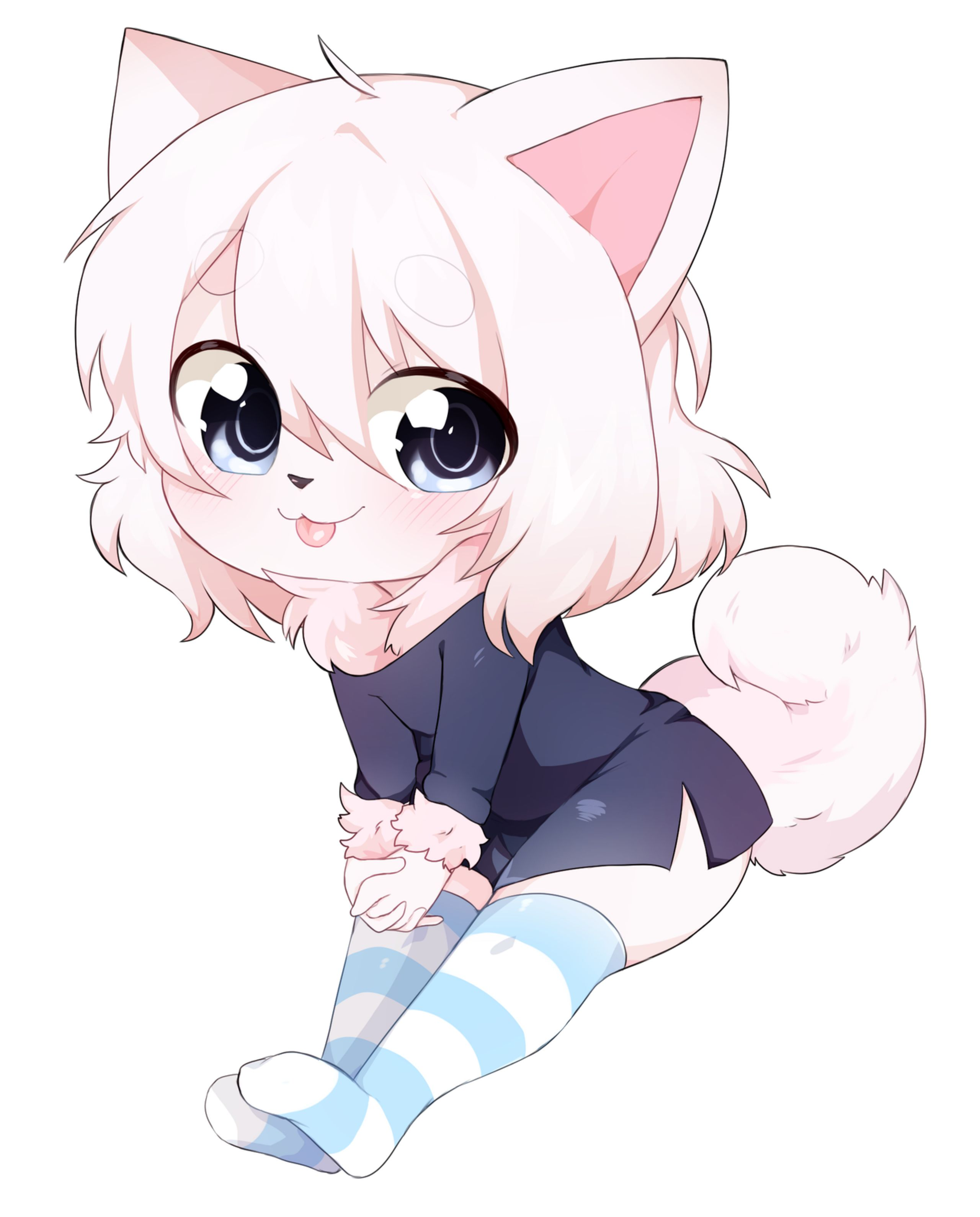 chibi commission by sweetbream on DeviantArt Furry