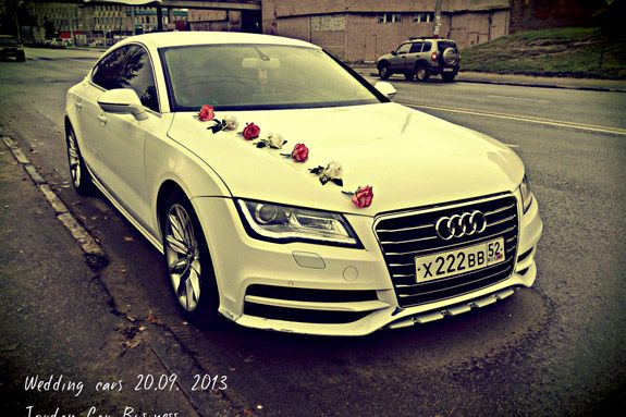 Decor Wedding Car AUDI A Wedding Cars Pinterest Wedding - Audi car decoration