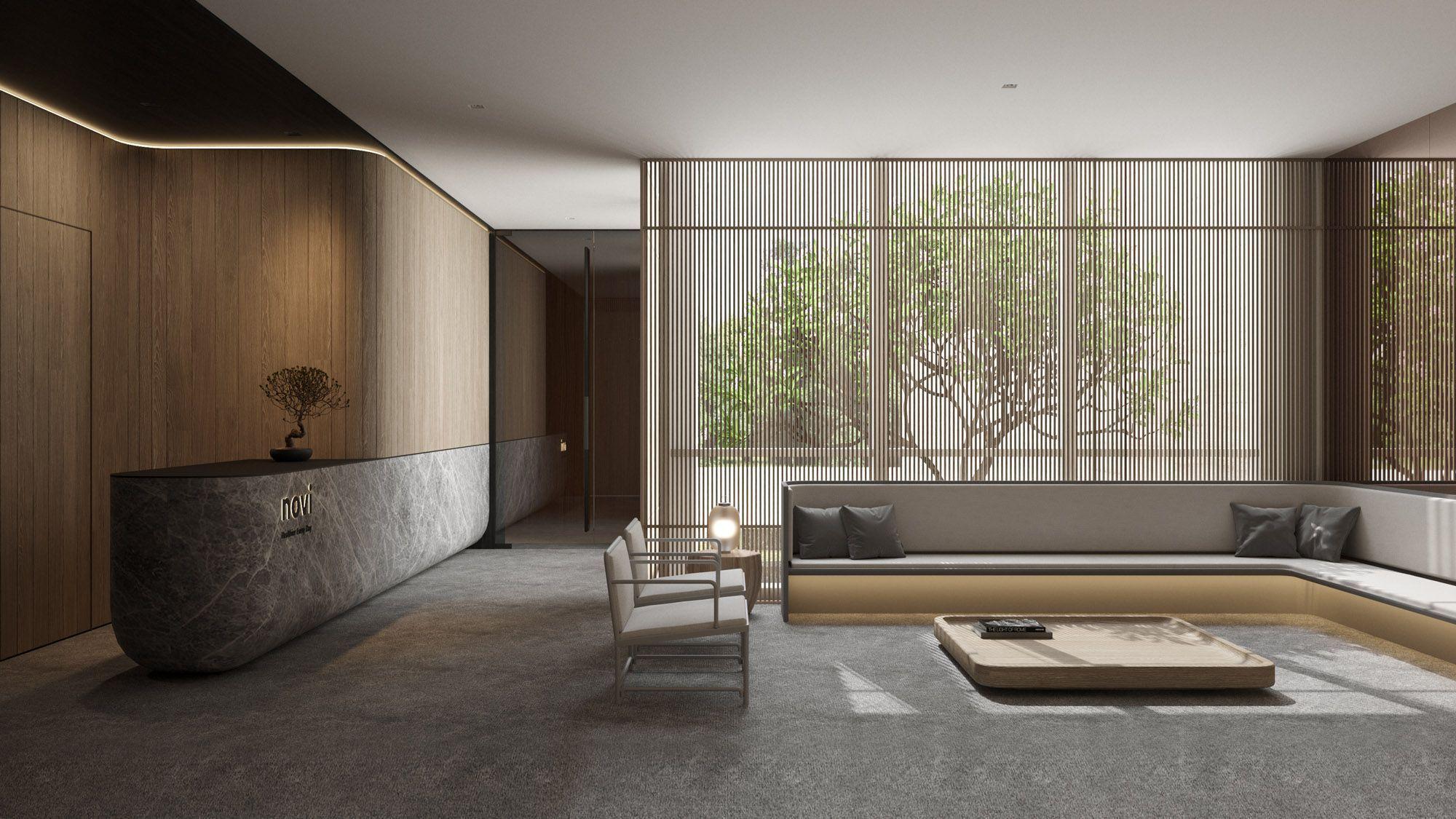 0932 Singapur Architektur Und Interior Design Architektur Design Interior Officeinteriordesignlobby Si With Images Hotel Lobby Design Space Interiors Lobby Design