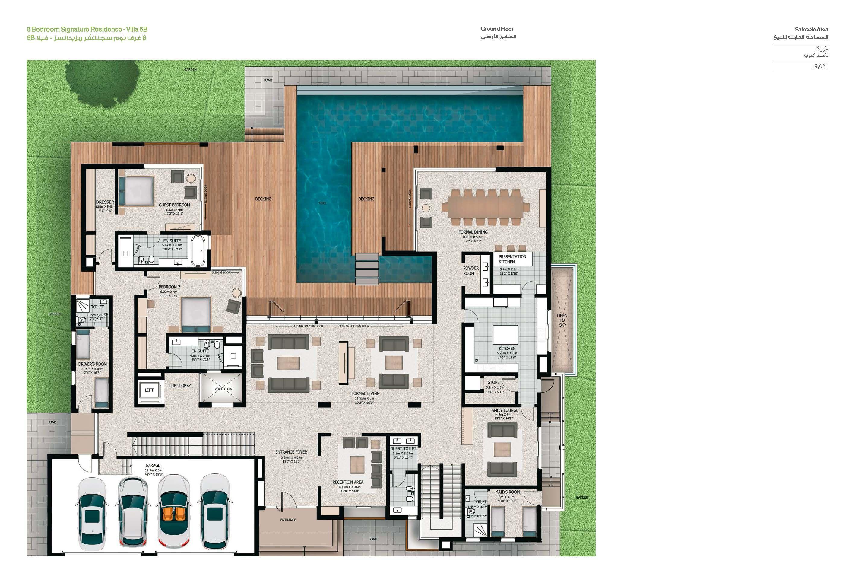 Sobha Hartland Villas Op House Floor Plans House Plans Floor Plans