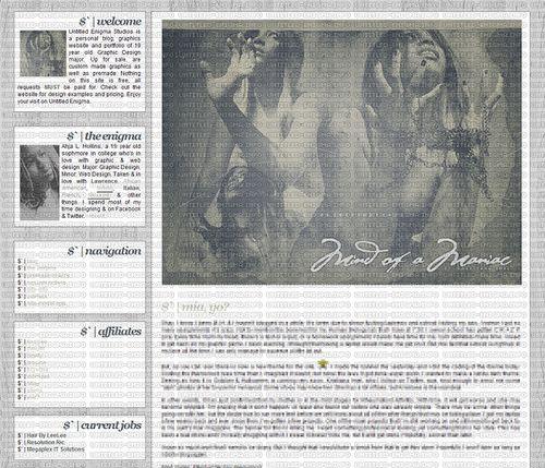 Wordpress theme made for Untitled Enigma.   WordPress Blog & Magazine Themes - wordpress themes for sale  http://themeforest.net/?ref=szamriy