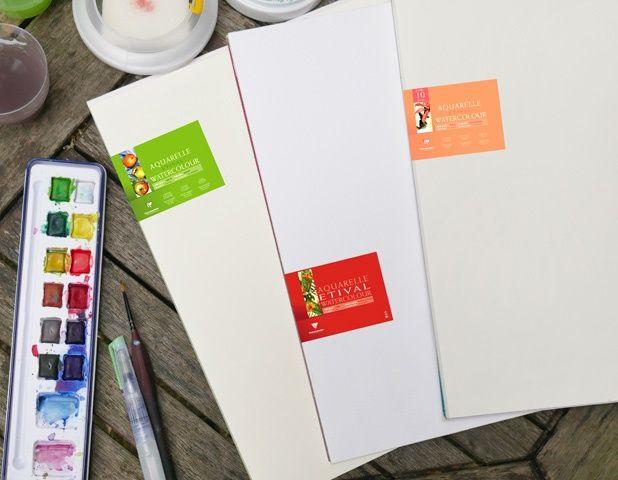 L Artiste Amylee A Teste Les 3 Types De Grains Du Papier
