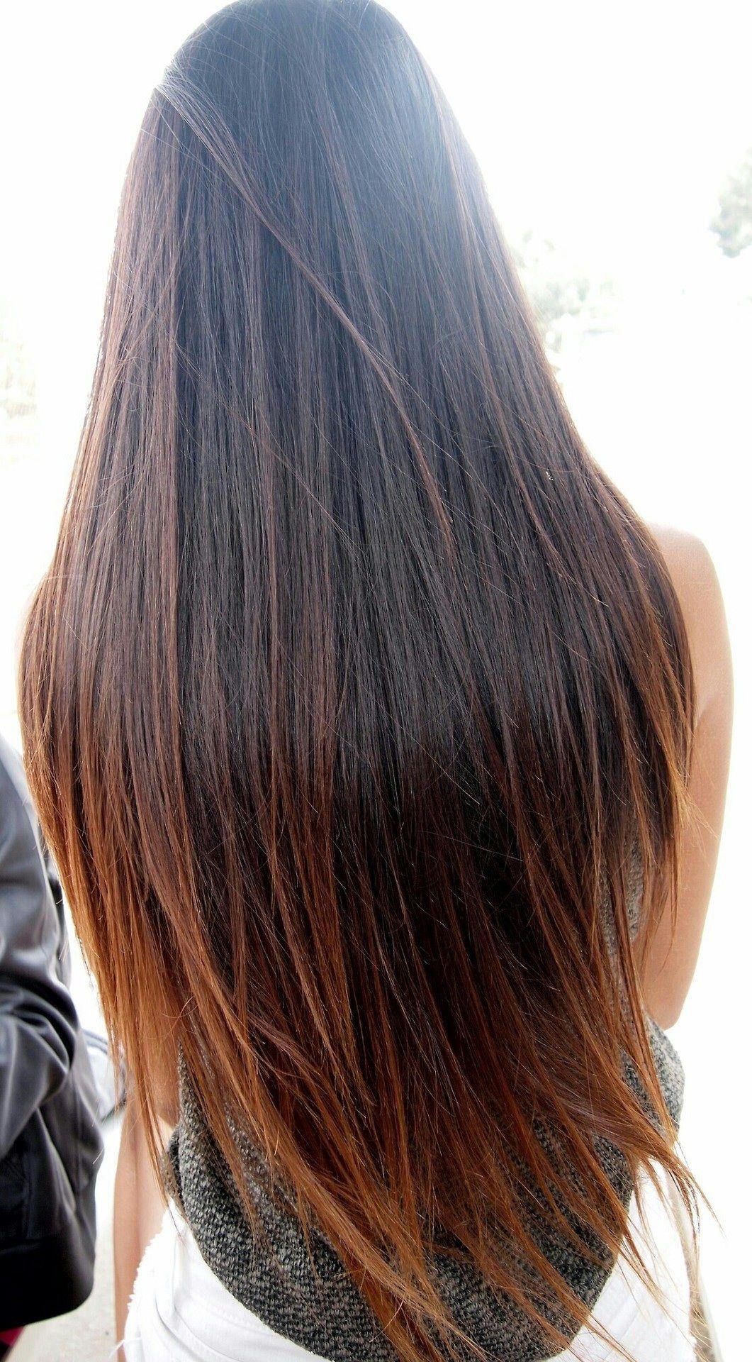 Long Subtle Ombre Long Hair Styles Hair Treatment Coconut Oil Hair Treatment