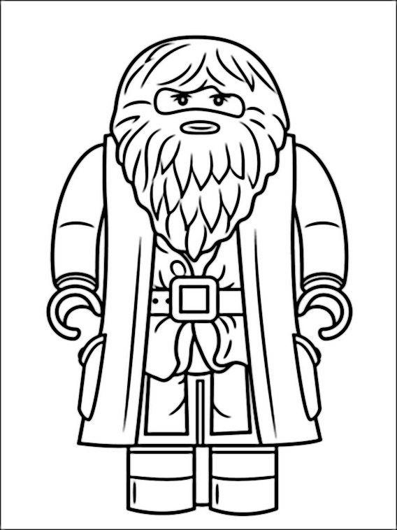 lego harry potter 2 ausmalbilder für kinder malvorlagen
