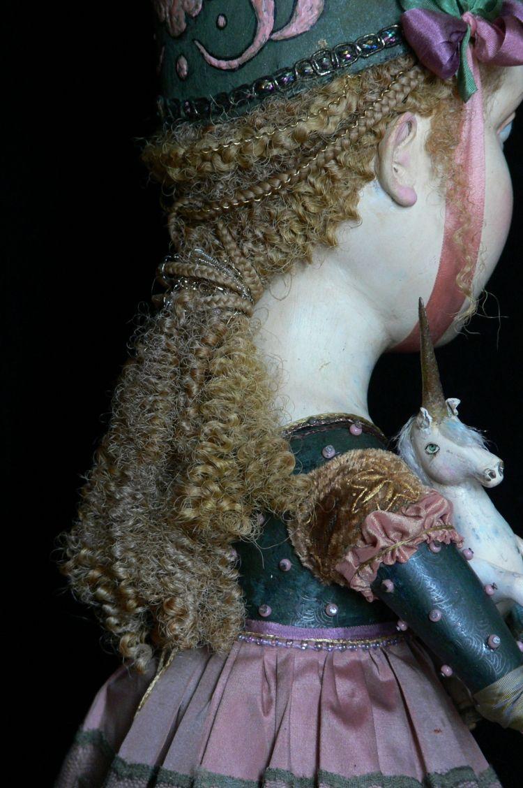"""Принцесса и единорог"" | Принцессы, Куклы, Единорог"