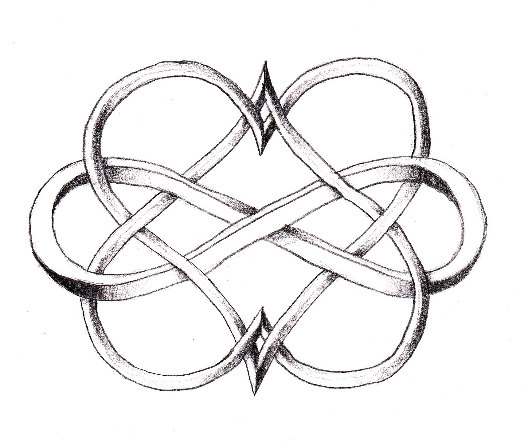 Infinity symbol meaning tattoo gallery symbol and sign ideas infinity intertwined with hearts love this tattoos pinterest i love this double heart infinity idea id biocorpaavc Choice Image