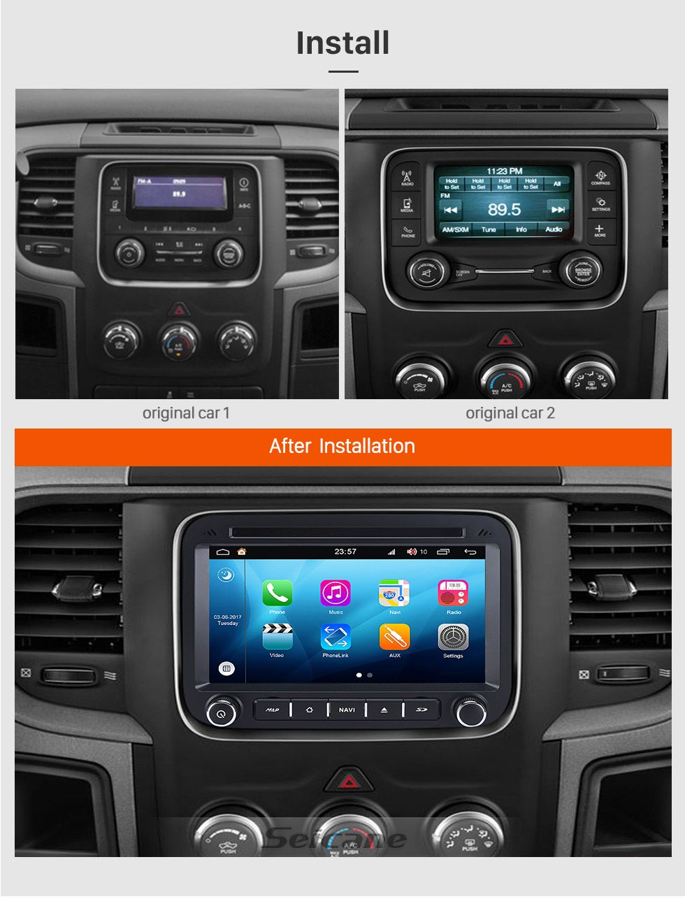 Be ready for any season with a great android car radio # ...