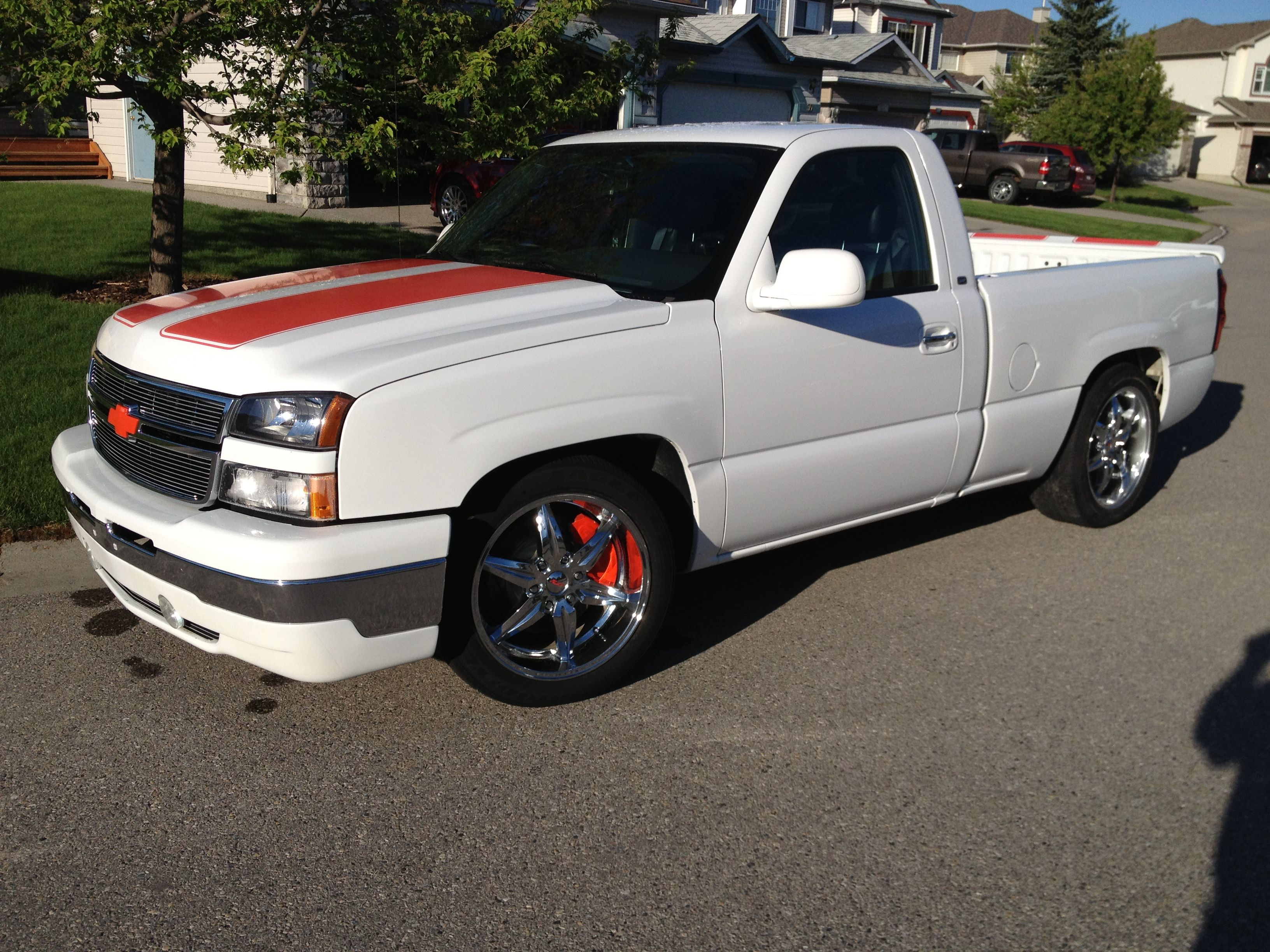 2006 RST Silverado one 200 made and sighed by Jon Moss