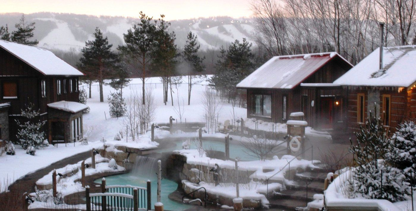 Scandinave Spa Blue Mountain Scandinavian Baths Day Resort Spa Heaven On Earth In Our Own Backyard I Love Going Here Scandinavian Baths Blue Mountain