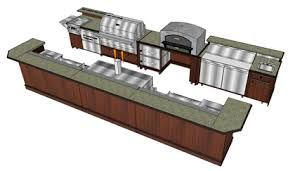 Image Result For Outdoor Commercial Kitchen Layout Examples Enchanting Outdoor Kitchen Layout Decorating Design