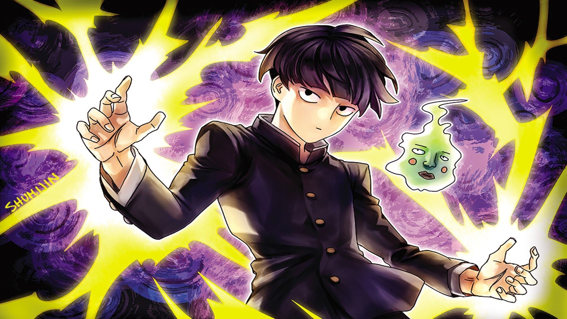 Free Desktop Wallpaper Downloads Mob Psycho 100 Mob Psycho 100 Anime Mob Psycho Mob Psycho 100