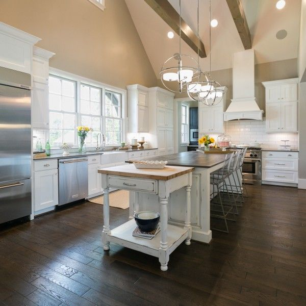 Best Beautiful Kitchen With Vaulted Ceiling Vaulted Ceiling 400 x 300