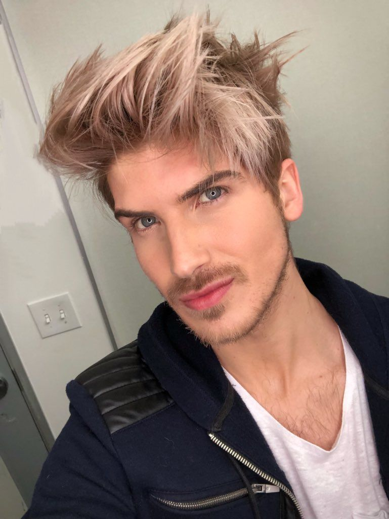 Pin By Blue On Yt Joey Graceffa Men Hair Color Kids Hairstyles Mens Hairstyles