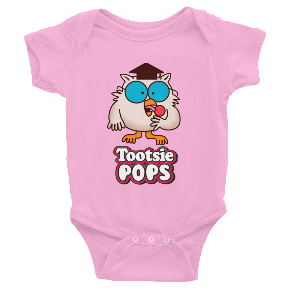f390bc40 Mr. Owl Tootsie Roll Pop Infants Onesie #MrOwl #TootsieRoll #HowManyLicks  #Infants PHORMULATEES.COM