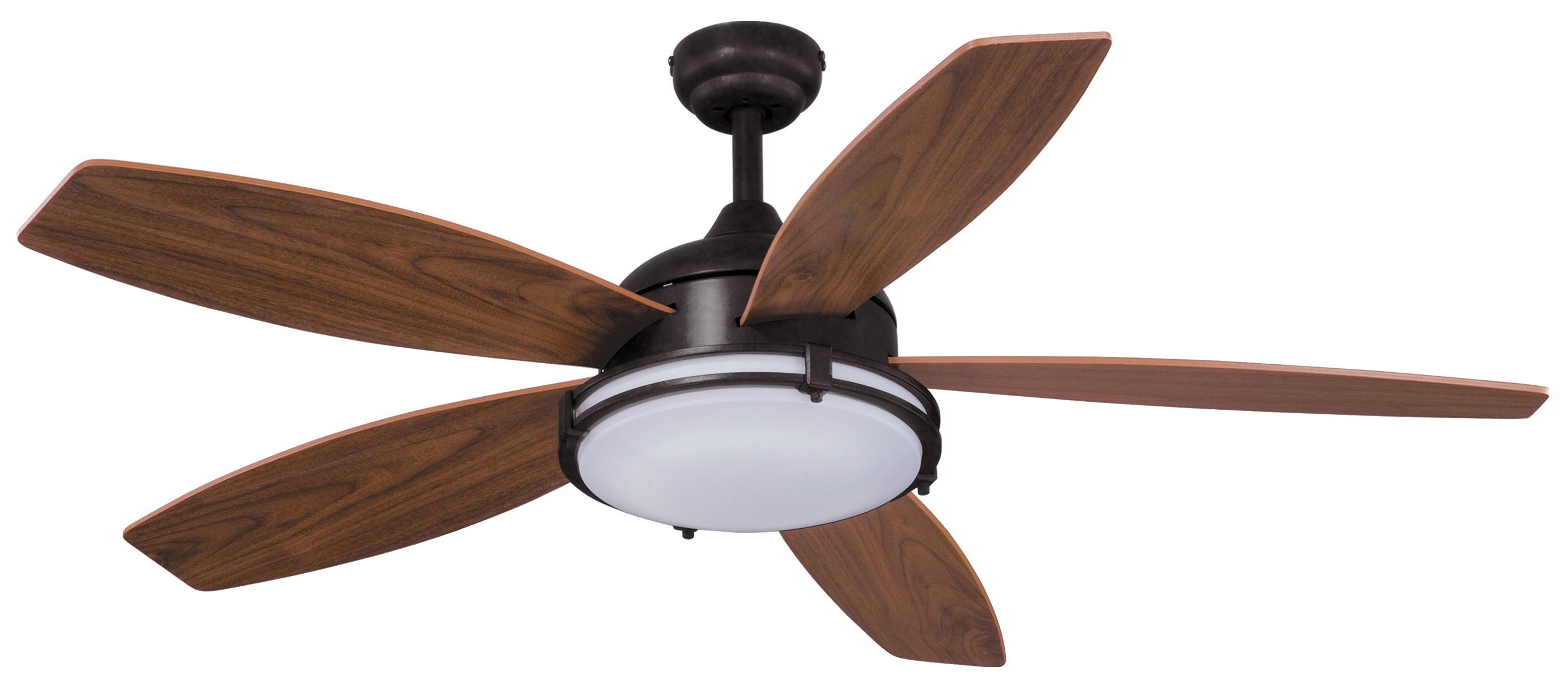 Vaxcel Lighting F0038 Tali Led 52 Ceiling Fan Oil Burnished Bronze