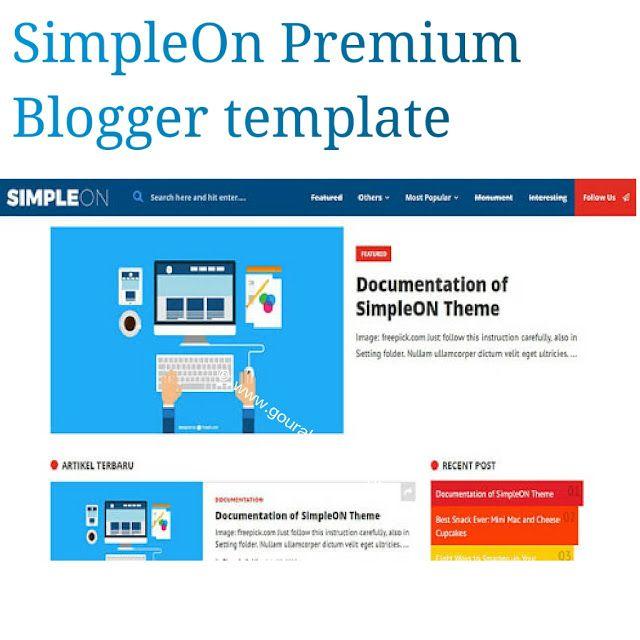 Simpleon is a responsive premium blogger templateean code simpleon is a responsive premium blogger templateean code dynamic design and seo friendly maxwellsz