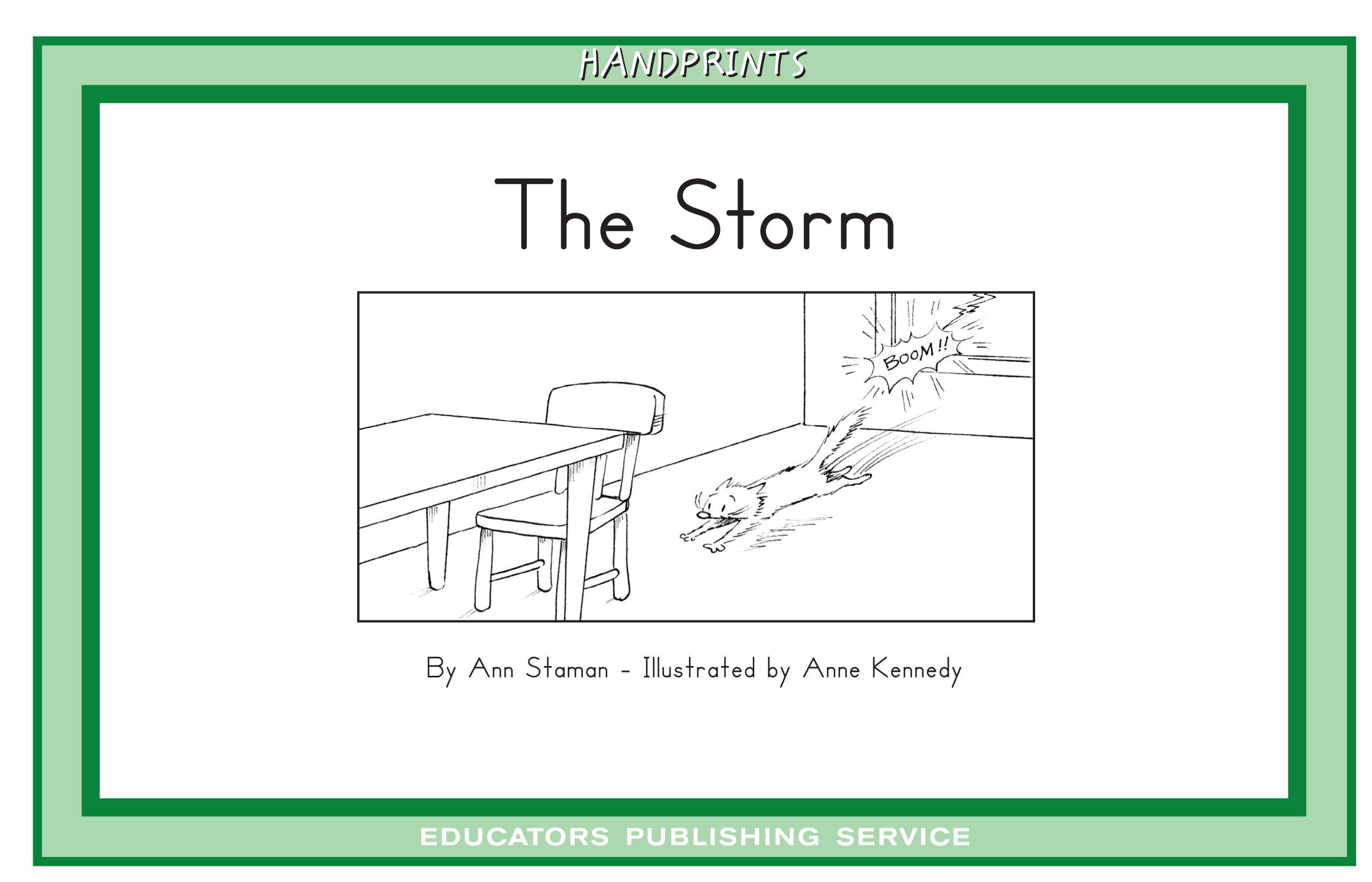 The Storm Level 12 Handprints D Set 3 Leveled Readers